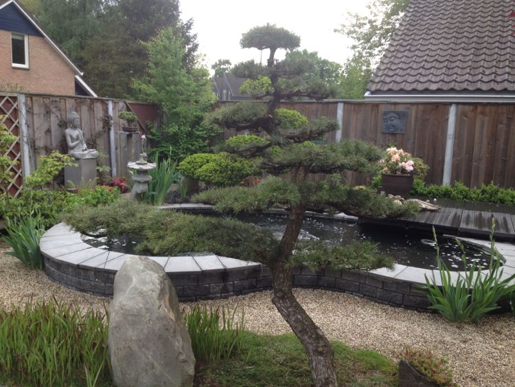 oosterse tuin